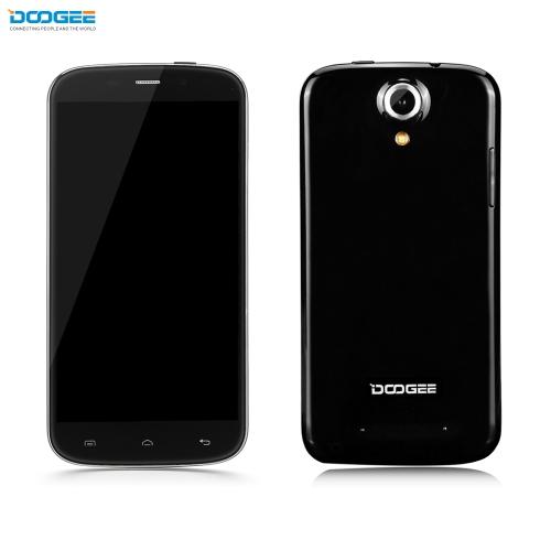 """Original DOOGEE Nova Y100X 3G WCDMA GSM MT6582 Quadcore Smartphone 5.0"""" HD OGS Android 5.0 1GB RAM 8GB ROM 5MP 8MP Dual Cameras EU Plug"""