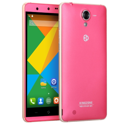 Original KINGZONE N5 Android 5.1 4G Smartphone 5.0inch Gorilla 2.5D Arc Screen MTK6735 64bit Quad Core 2GB RAM 16GB ROM 5MP 13MP Cameras
