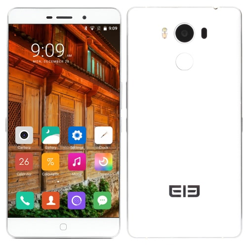 """Elephone P9000 4G FDD-LTE TDD-LTE Smartphone Android 6.0 Octa Core MTK6755 5.5"""" 1.6mm Ultra Narrow OGS Screen 2.0GHz 4GB RAM 32GB ROM 8MP 13MP Dual Cameras Aluminium Alloy Frame Fingerprint NFC Type-C Quick Charge 5G WIFI OTG E-TOUCH Smart Key Gesture Function Intelligent Mute Mode"""