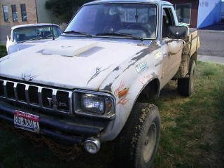 Used 1982 Toyota Pickup Sr5 In Idaho Falls Idaho