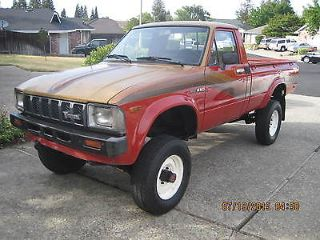 Used 1982 Toyota Pickup Deluxe In Rocklin California