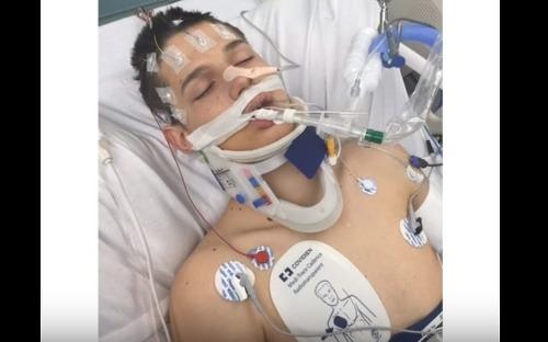 Zack Clements prežil klinickú