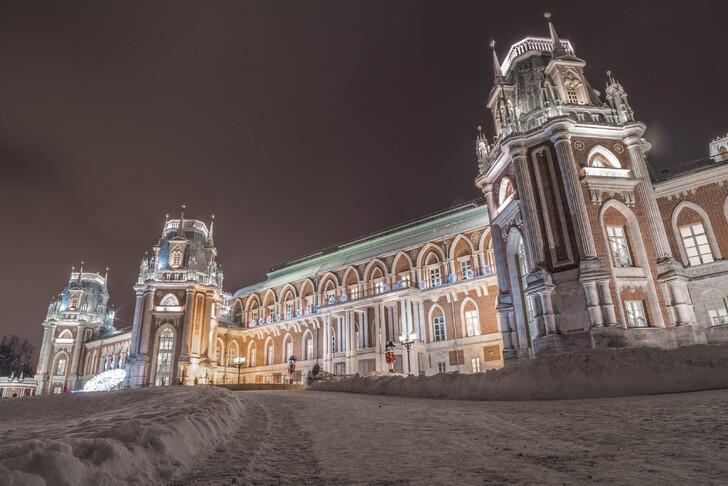 Tsaritsyno hiver