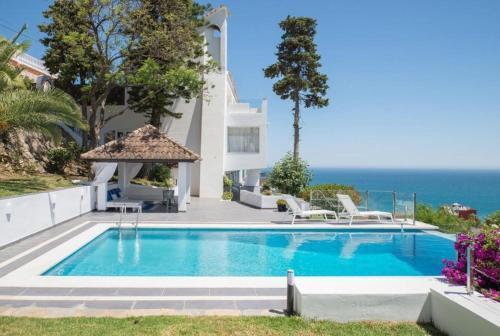 Отель Fantastic Villa with Panoramic Sea View! Do not miss ...