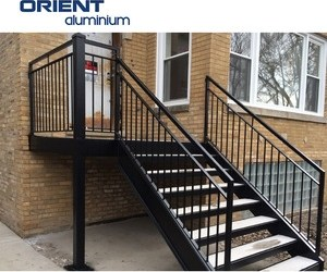 Outdoor Metal Handrail For Steps Outdoor Metal Handrail For Steps | Metal Handrails For Outdoor Steps | Hand | Front Porch Stair Railing | Outside | Patio | Gas Pipe