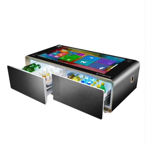 als smart touch screen coffee table