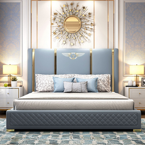 luxury bed room modern king size