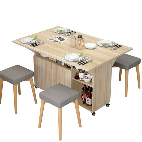 Furniture Room Modern Dining Table Foldable Wood Designs Extendable Folding Wood Dining Table Set Wholesale Modern Furniture Products On Tradees Com