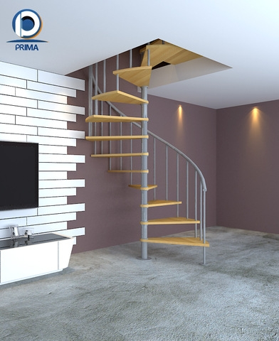 Spiral Staircase Decorative Wood Steps Stair Design Wholesale   Wooden Spiral Stairs Design   Different Style   Circular   Curved   Space Saving   Easy Diy