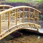 bamboo garden bridge Bamboo Garden Bridge in Guwahati, Assam, India - LUIT NIRMAN
