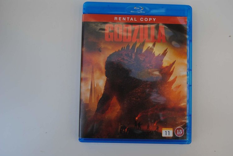 Blu-ray: Godzilla (Aaron Taylor-Johnson) (356456445) ᐈ Köp ...