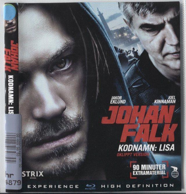 Johan Falk Kodnamn Lisa 2013 Blu Ray Hyr Plastficka