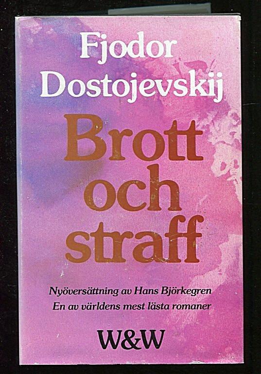 Bildresultat för brott och straff fjodor dostojevskij