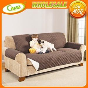 import plain dyed sofa reversible