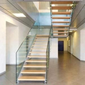 New Design Modern Glass Stairs Glass Railing Staircase Build | Railing Of Stairs Design | Stainless | Wrought Iron | Ultra Modern Stair Grill | Stylish | Creative