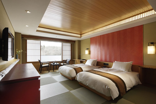 竹泉荘 Mt.Zao OnsenResort&Spa/客室
