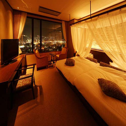 稲佐山温泉 ホテル アマンディ/客室