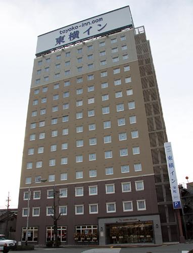 東横イン富山駅前1(旧:東横イン富山駅前宝町)/外観