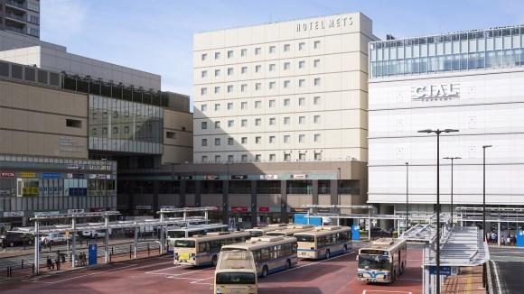 ホテルメッツ横浜鶴見<JR東日本ホテルズ>/外観