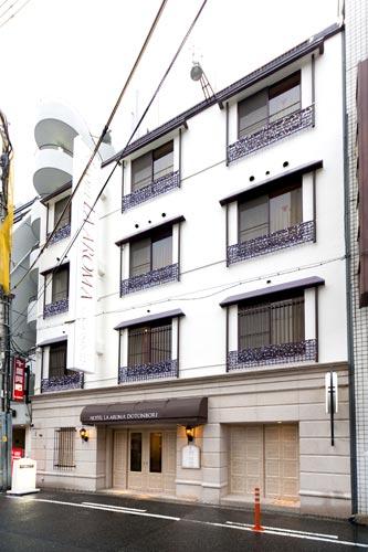 ホテル ラ・アロマ 道頓堀/外観