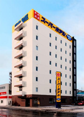 スーパーホテル旭川 天然温泉 大雪山の湯/外観