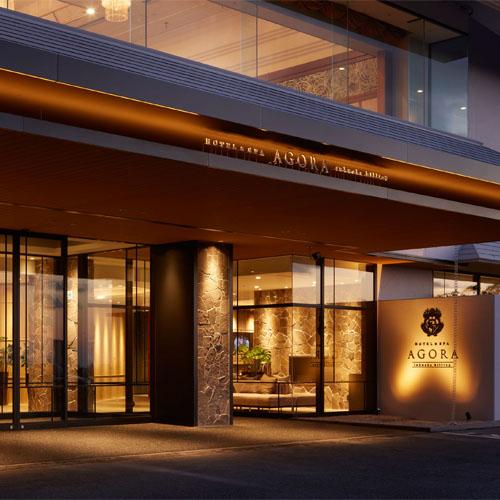 アゴーラ福岡山の上ホテル&スパ(旧 福岡山の上ホテル)/外観