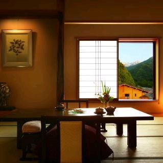 山野草の宿 二人静/客室