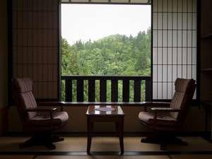 滝と蕎麦の宿 瀧見舘/客室