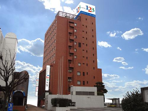 ホテル1ー2ー3小倉(旧:コクラセントラルイン)/外観