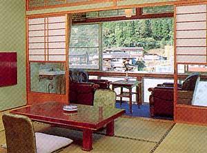 杖立温泉 ふくみ山荘/客室