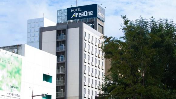 ホテルエリアワン岡山(HOTEL Areaone)/外観