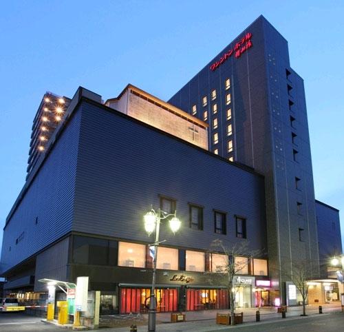 いわきワシントンホテル椿山荘/外観