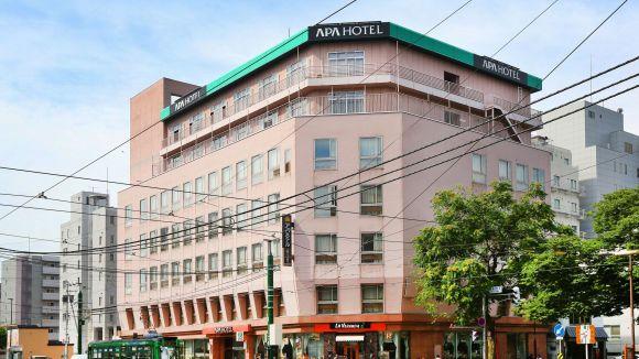 アパホテル<札幌すすきの駅西>/外観
