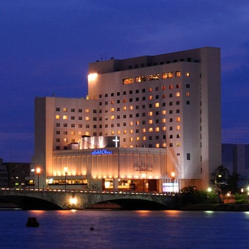 【新幹線付プラン】ホテルオークラ新潟(びゅうトラベルサービス提供)/外観