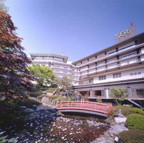 【特急列車付プラン】伊香保温泉 ホテル天坊(びゅうトラベルサービス提供)/外観
