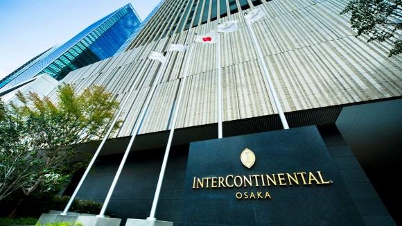 インターコンチネンタルホテル大阪/外観