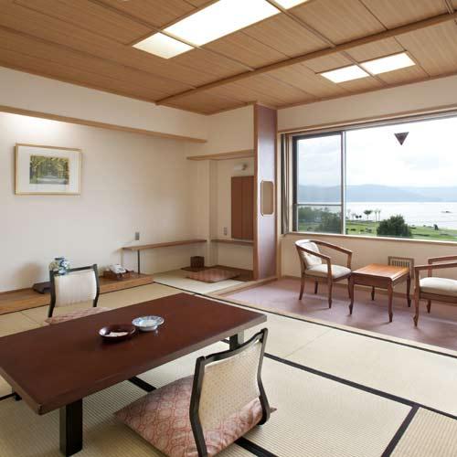 【特急列車付プラン】諏訪湖ホテル(びゅうトラベルサービス提供)/客室