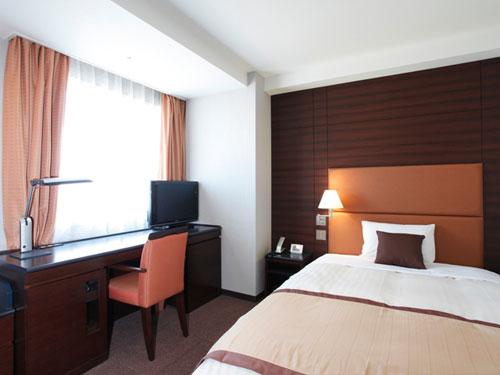 【新幹線付プラン】ホテルメトロポリタン高崎(びゅうトラベルサービス提供)/客室