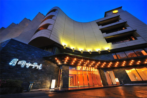 【新幹線付プラン】かみのやま温泉 月岡ホテル(びゅうトラベルサービス提供)/外観