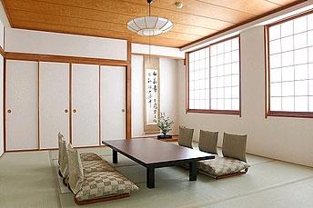 鶯宿温泉の宿 赤い風車/客室