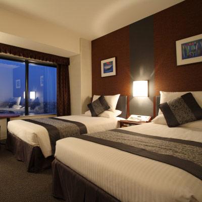 【新幹線付プラン】新横浜プリンスホテル(びゅうトラベルサービス提供)/客室