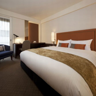 【JR列車付プラン】JR九州ホテル ブラッサム福岡(JR九州旅行提供)/客室