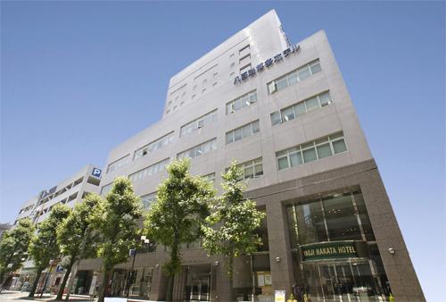 【JR列車付プラン】天然温泉 八百治の湯 八百治博多ホテル(JR九州旅行提供)/外観