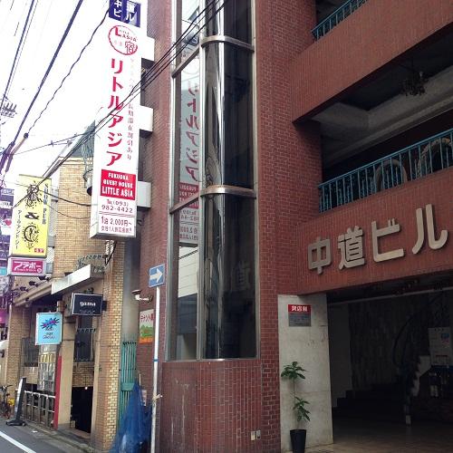 福岡ゲストハウスリトルアジア小倉/外観