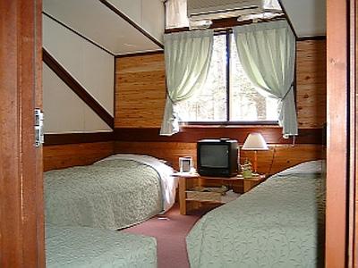オーベルジュ・ド・ノームの森/客室