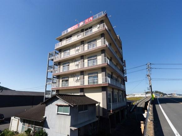 HOTEL 鶴 川内/外観