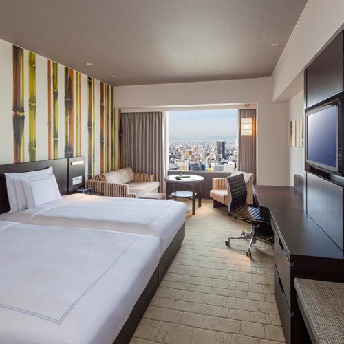 【新幹線付プラン】スイスホテル南海大阪(びゅうトラベルサービス提供)/客室