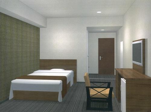 ホテル スーパー泊/客室