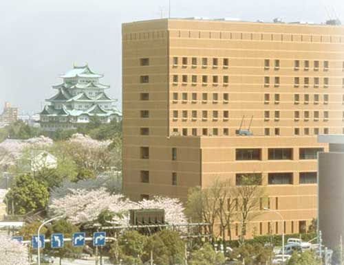 KKRホテル名古屋(国家公務員共済組合連合会名古屋共済会館)/外観