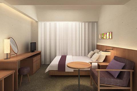 ホテルグレイスリー京都三条/客室